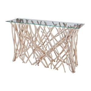 Maynard Traditional Console Table by Rosecliff Heights