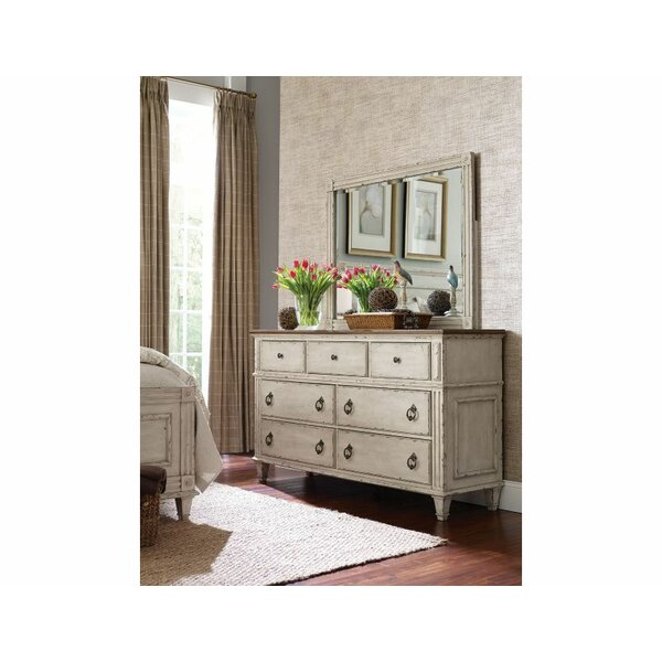 Dicha 7 Drawer Dresser with Mirror by Ophelia & Co.