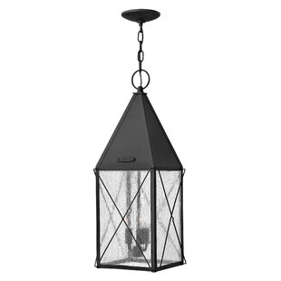 Compare prices York 3-Light Outdoor Hanging Lantern By Hinkley Lighting