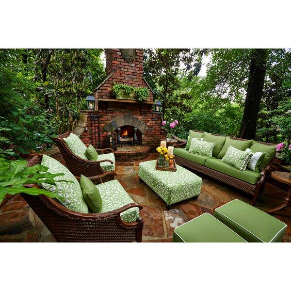 Panama 6 Piece Sunbrella Sofa Seating Group with Cushions by Peak Season Inc.