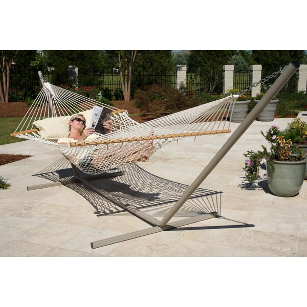 Crowle Cotton Double Tree Hammocks By Freeport Park