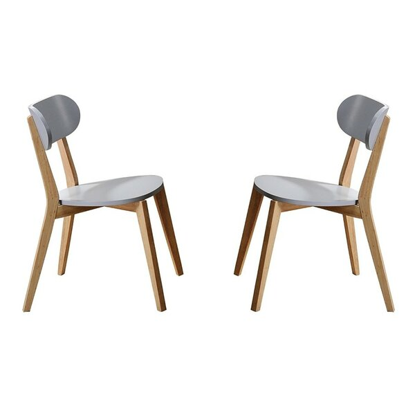 Kaeden Solid Wood Dining Chair (Set of 4) by George Oliver