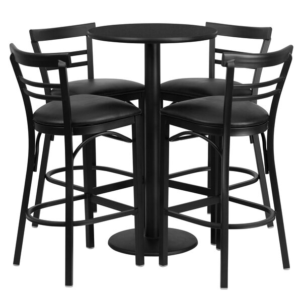 Naro 5 Piece Pub Table Set by Red Barrel Studio