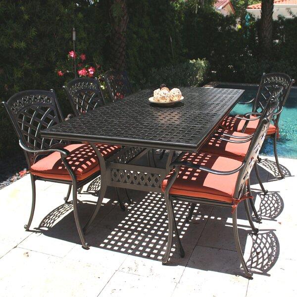 ComfortCare 7 Piece Outdoor Dining Set by Infinita Corporation
