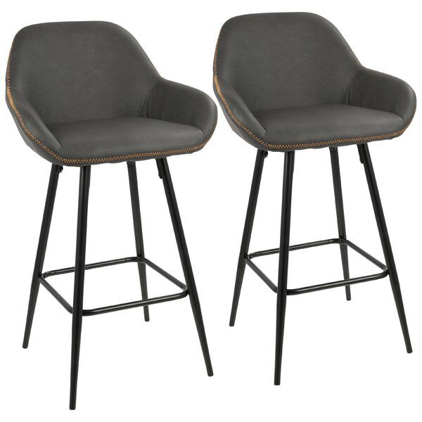 Rylee 26 Bar Stool (Set of 2) by Mercury Row