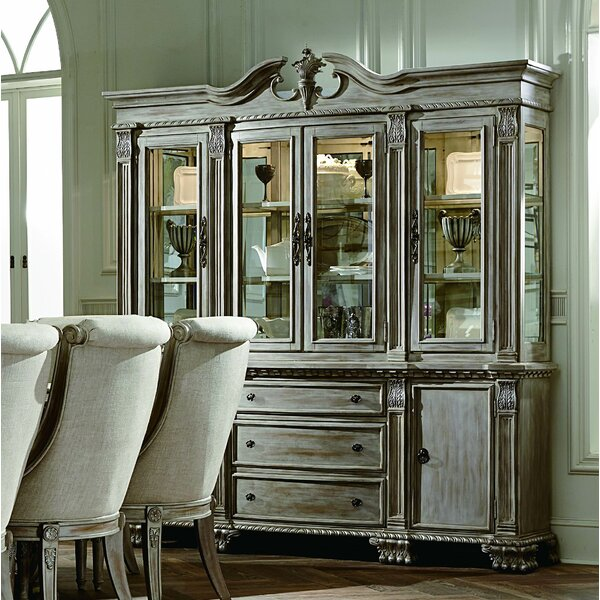 Chirk China Cabinet by Astoria Grand