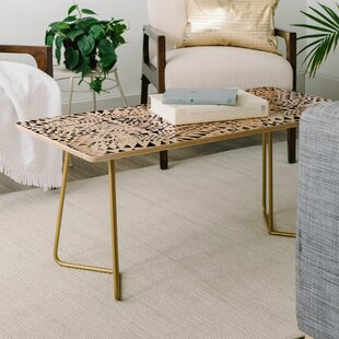 Schatzi Tribal Triangles Coffee Table ByEast Urban Home