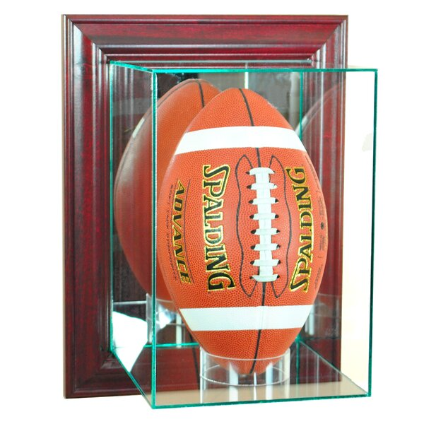 Wall Mounted Upright Football by Perfect Cases