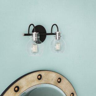 Affordable Price Poppy 2-Light Vanity Light By Trent Austin Design