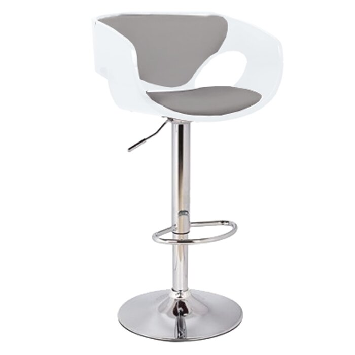 Cool Kimbro Adjustable Height Swivel Bar Stool Uwap Interior Chair Design Uwaporg