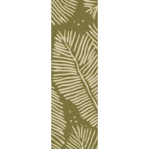 Acosta Hand-Tufted Olive/Ivory Indoor/Outdoor Area Rug by Bay Isle Home