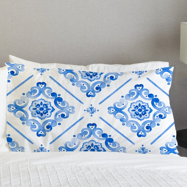 Benedict Pillow Case by Bungalow Rose