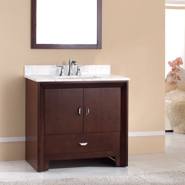 Indigo 37 Single Bathroom Vanity Set by Latitude Run