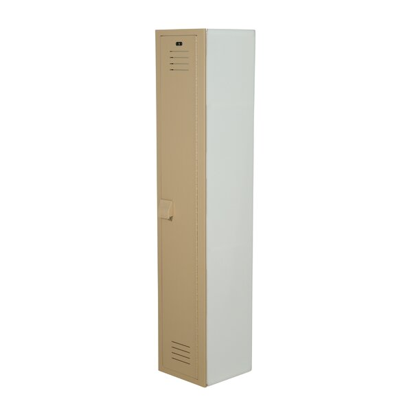 1 Tier 1 Wide School Locker by Lenox Plastic Locke
