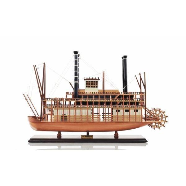 King Mississipi Model Boat by Old Modern Handicrafts