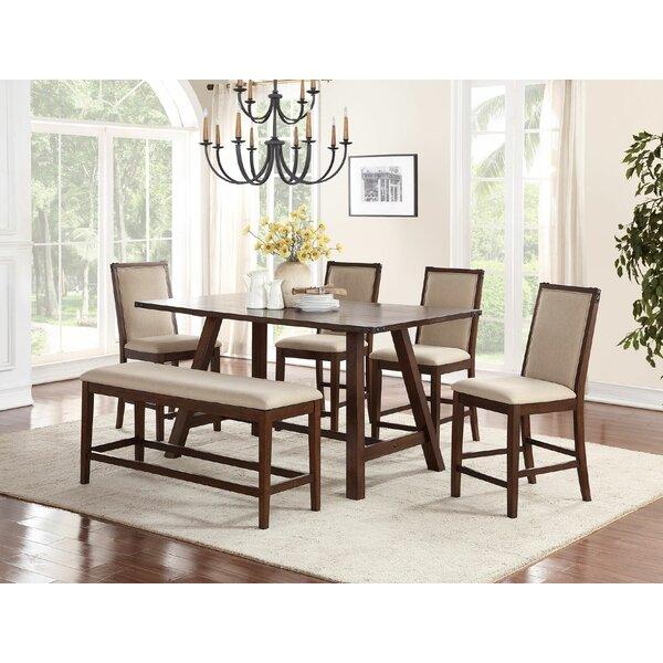 Ordinaire Darby Home Co Chandeleur 6 Piece Counter Height Dining Set | Wayfair