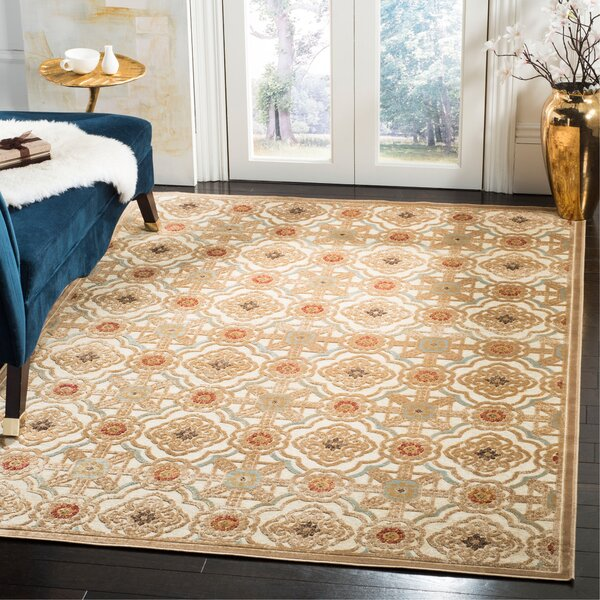 Martha Stewart Imperial Palace Taupe/Cream Area Rug by Martha Stewart Rugs