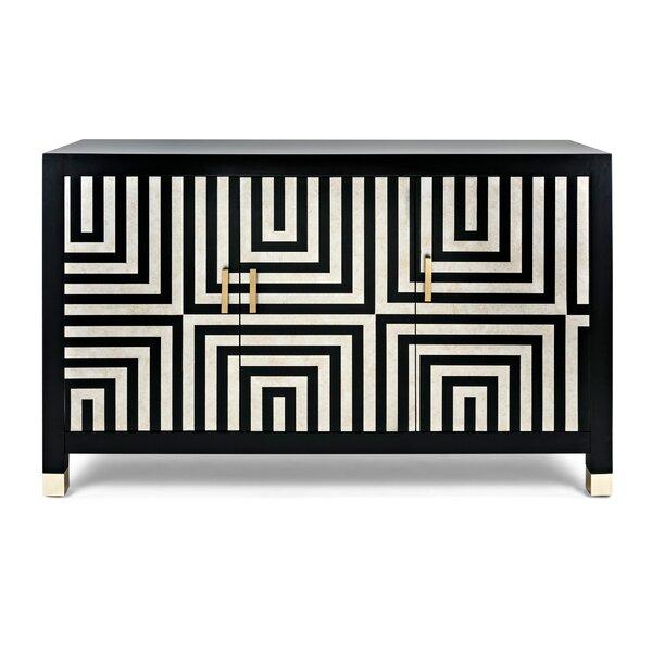 Klein 3 Door Accent Cabinet