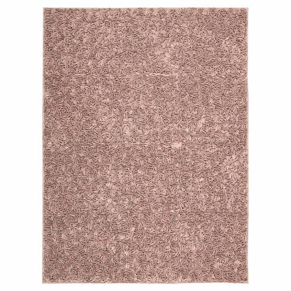 Geomar Handmade Pink Area Rug by One Allium Way