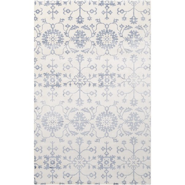 Iroquois Hand Woven Blue/Gray Area Rug by Darby Home Co