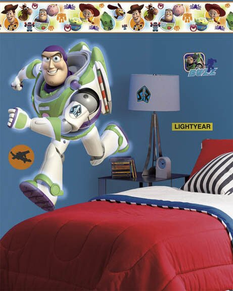 Disney Toy Story 3 Buzz Room Makeover Wall Decal by Wallhogs