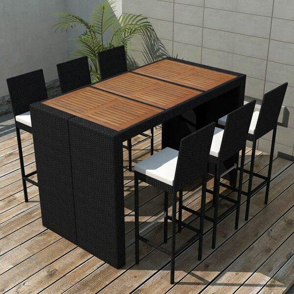 Kyles 7 Piece Dining Set With Cushions By Brayden Studio by Brayden Studio Find