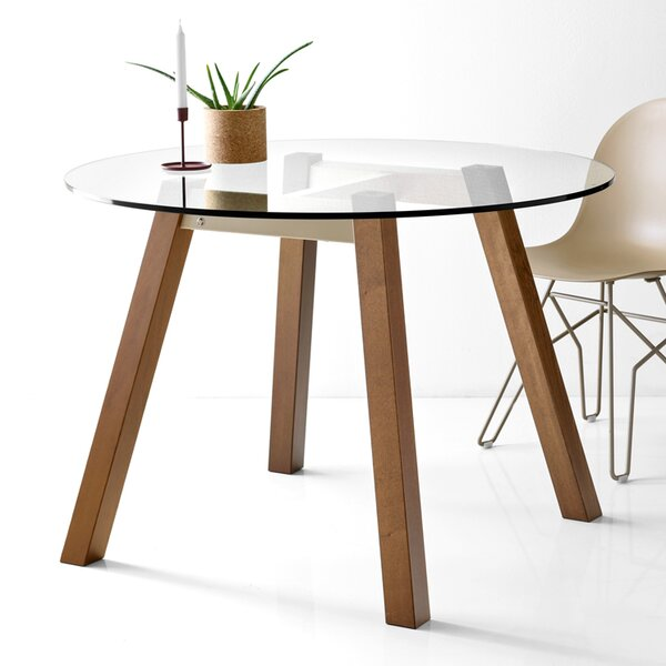 Adaline Round Dining Table by Wrought Studio
