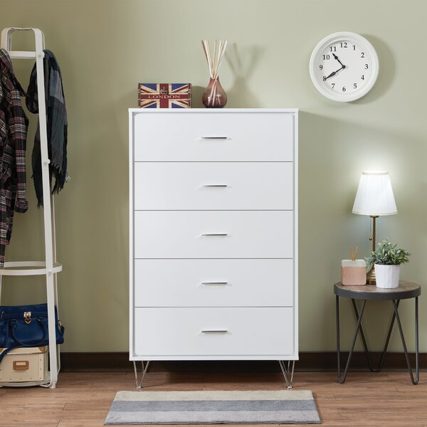 Enosburgh Rectangular 5 Drawer Chest By Wrought Studio by Wrought Studio Herry Up