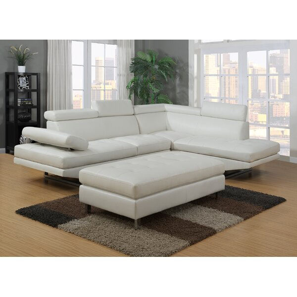 Alemany Sectional with Ottoman by Orren Ellis