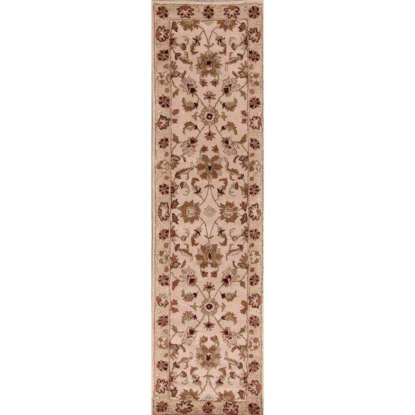 Encline Oushak Kashan Oriental Hand-Tufted Wool Beige Area Rug