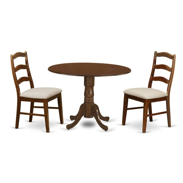 Aimee 3 Piece Dining Set by August Grove
