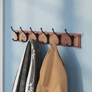 Old Wardrobe Hangers Wall Coat Hook Rail Reproduction Arms./wardrobes