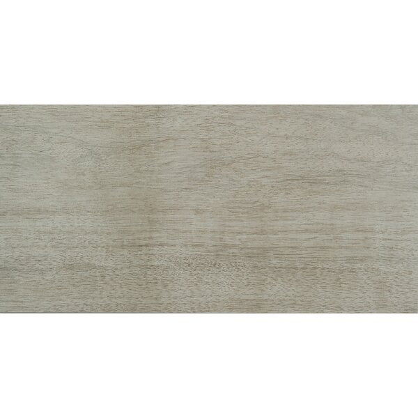 Harmony Grove 3 x 15 Porcelain Wood Look Tile in Olive Pewter by PIXL