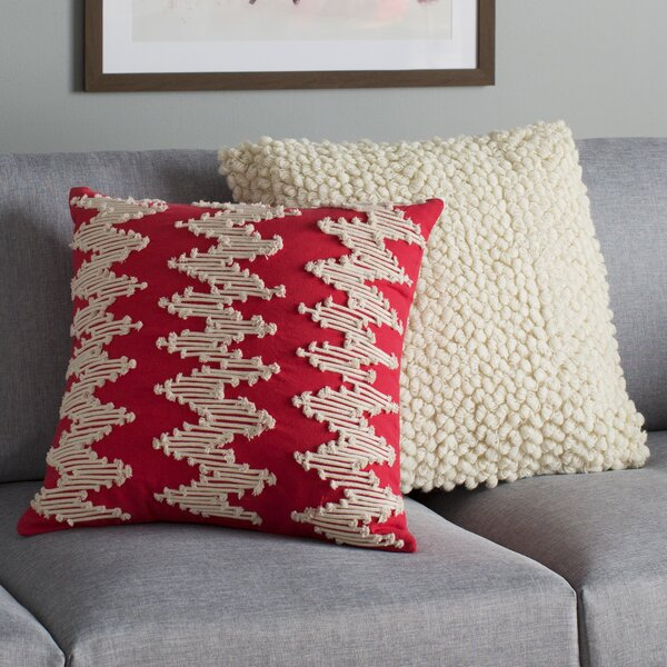 Frosted Chevron Pillow Cover by Birch Lane™