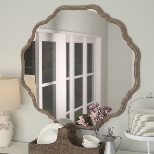 Elzada Wall Mirror by One Allium Way