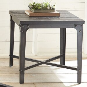 Hercules End Table by Laurel Foundry Modern Farmhouse