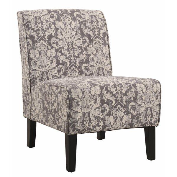 Holcomb Fabric Upholstered Slipper Chair By Winston Porter