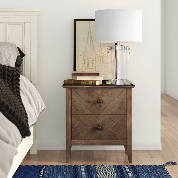 Kidsgrove 2 Drawer Nightstand By Three Posts Teen by Three Posts Teen Design
