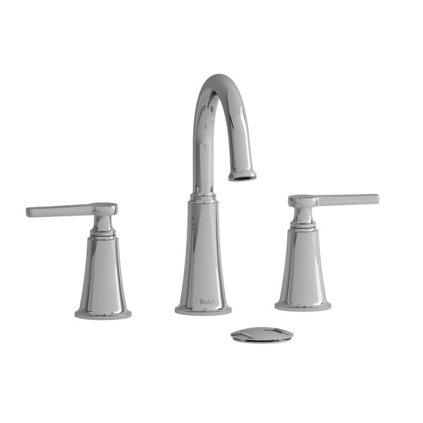 Momenti Widespread Bathroom Faucet With Drain Assembly By Riobel