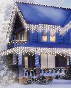100 Icicle Christmas Light by Vickerman