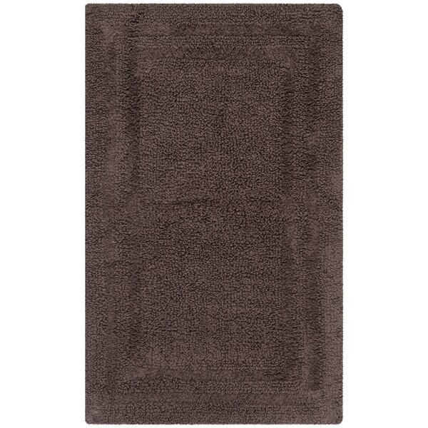 Arquilla 100% Cotton Geometric Bath Rug