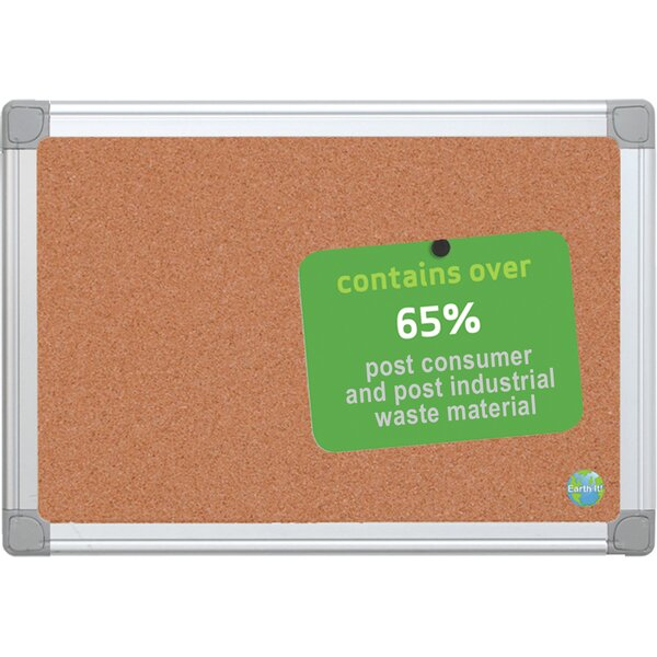 Earth Wall Mounted Bulletin Board by Mastervision