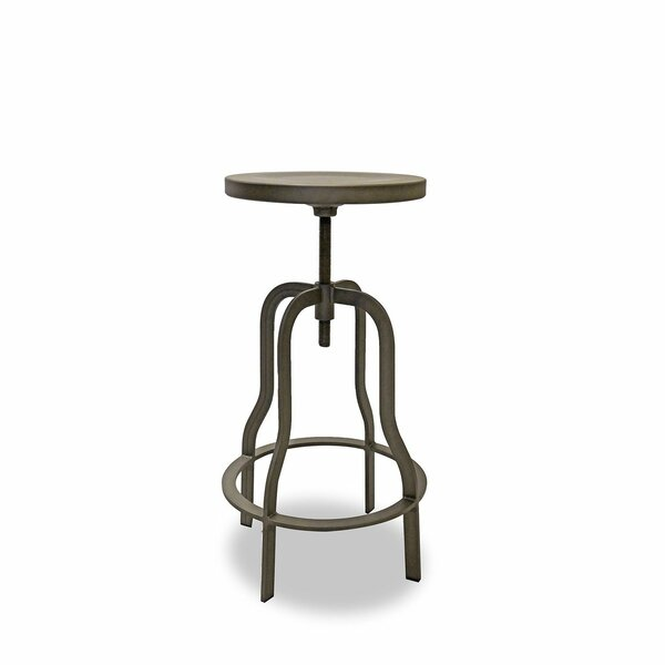 Swivel Adjustable Height Short Stool (Set Of 2) By 17 Stories