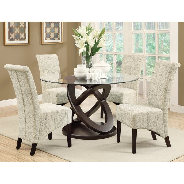 Chelvey 5 Piece Dining Set by Charlton Home