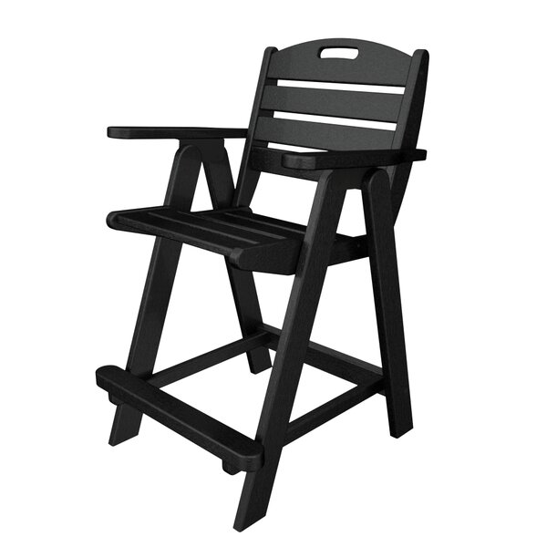 Nautical 24.5 Patio Bar Stool by POLYWOOD®