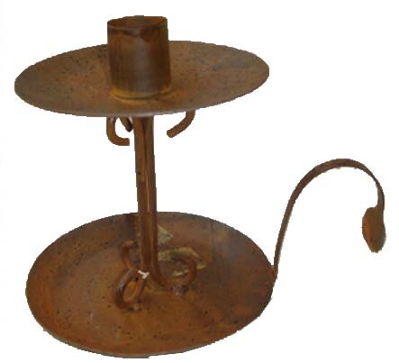 Tin Old World Taper Candlestick by Craft Outlet