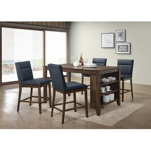 Lawhon 5 Piece Counter Height Pub Table Set By Latitude Run