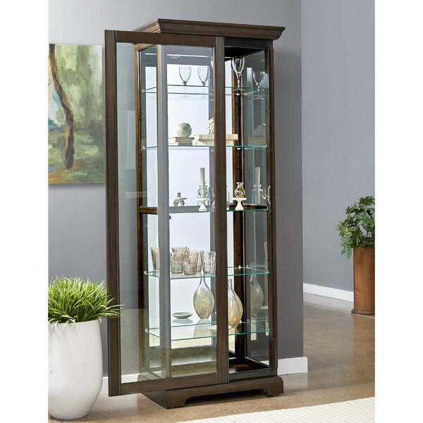 Moore China Cabinet by Alcott Hill