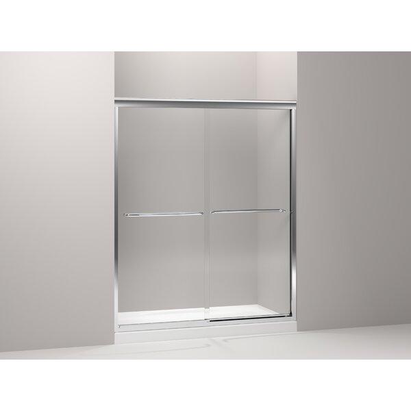 Fluence 59.63 x 75 Bypass Shower Door by Kohler