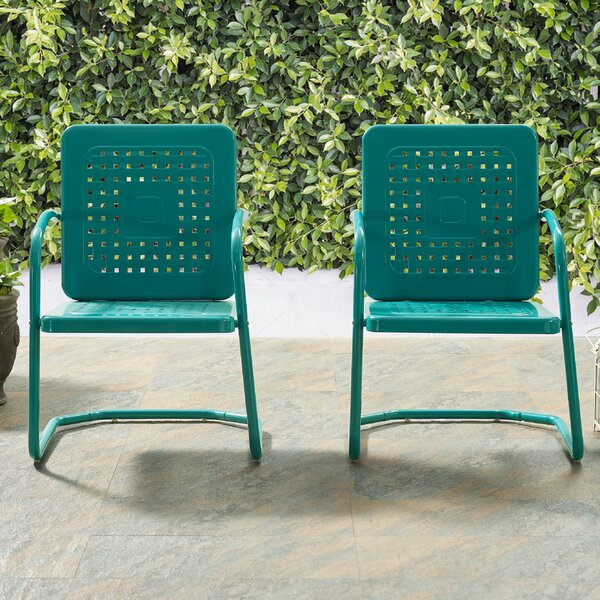 Kishore Patio Chair (Set of 2) by Red Barrel Studio